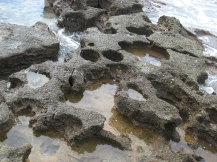 Formen am Strand