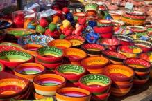 Schalen auf dem Markt